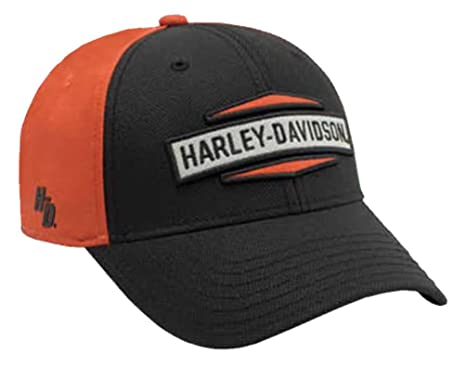 a0fa3ff6e92 Image Unavailable. Image not available for. Color  Harley-Davidson Men s  Embroidered HD Hexagon Baseball Cap