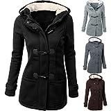 #9: Jushye Clearance!!! Women's Winter Outwear, Ladies Fashion Women Windbreaker Outwear Warm Wool Slim Long Coat Jacket Trench