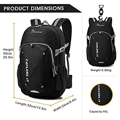 Mardingtop 30L/40L Hiking Daypack for Outdoor Climbing School travel