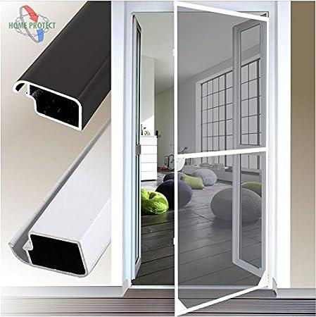 Mosquitera para puerta marco de Aluminio para puertas 120 x 240 cm blanco: Amazon.es: Bricolaje y herramientas