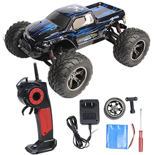 RC Car, 33+MPH 1/12 Scale Electric RC Car 2.4Ghz 2WD (Extreme Sport Brushless Motor)
