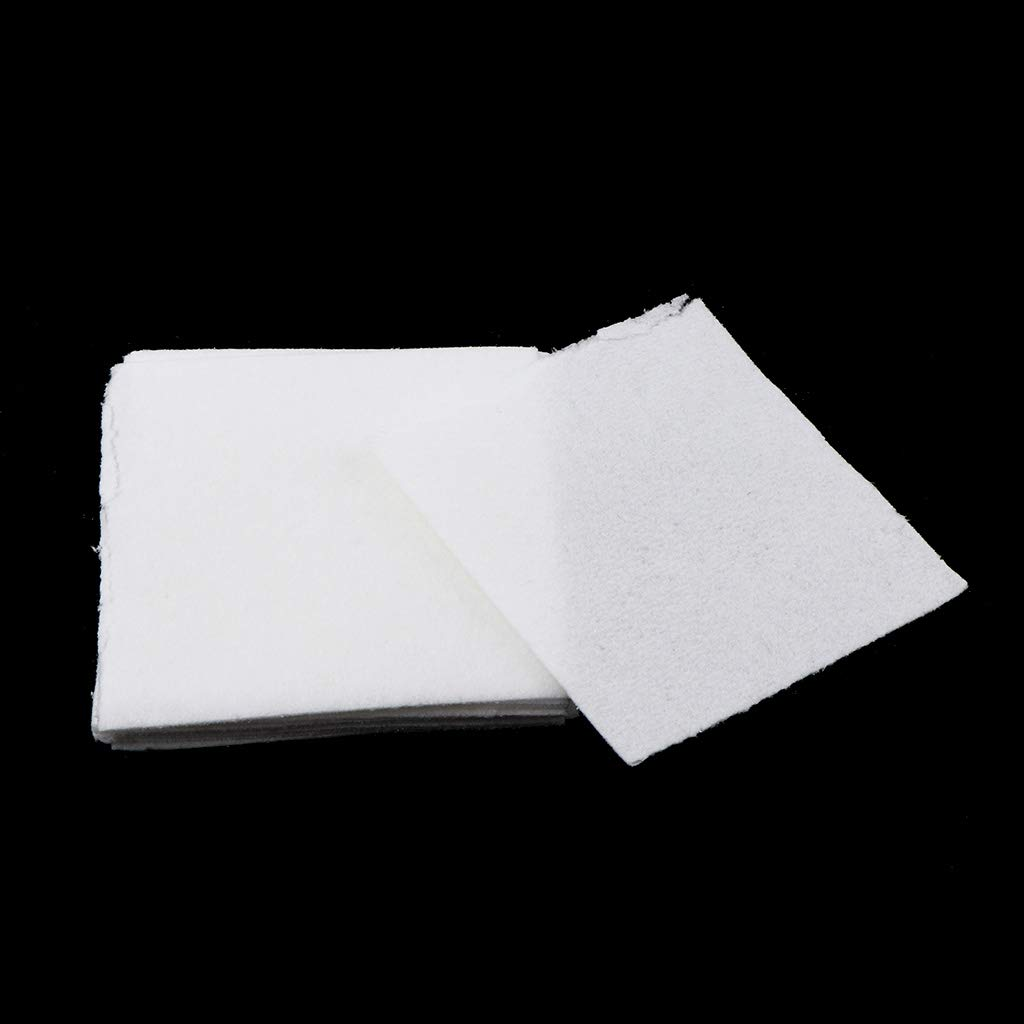 White Square 7.5x7.5cm Fityle 10 Sheets Microwave Kiln Glass Fusing Paper Ceramic Fiber Jewelry Making Tools Accessories