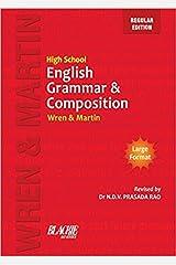 High School English Grammar & Composition By Wren & Martin (Paperback, Wren & Ma) Paperback
