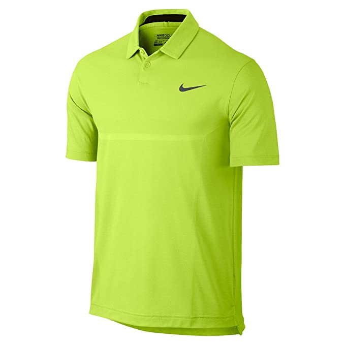 Nike Golf - Polo para Hombre, diseño Dri-Fit, Color Amarillo - 639949-702, Medium, Volt Yellow: Amazon.es: Deportes y aire libre