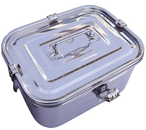 Stainless Steel Rectangular Kimchi Food Storage Container (8L / 271oz / 12