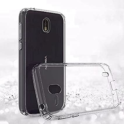 brand new 8755c 86bc9 LOFAD CASE Transparent Back Cover for Nokia 1