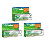 Curad Silver Solution Antimicrobial Gel, .5 Oz. (3)