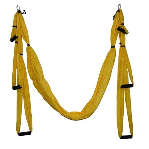 ZENWEN Hamaca de Yoga antigravedad Hamaca de paracaídas de ...
