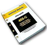 John Deere 450C Crawler Bulldozer Loader Dozer Service Manual Technical Repair