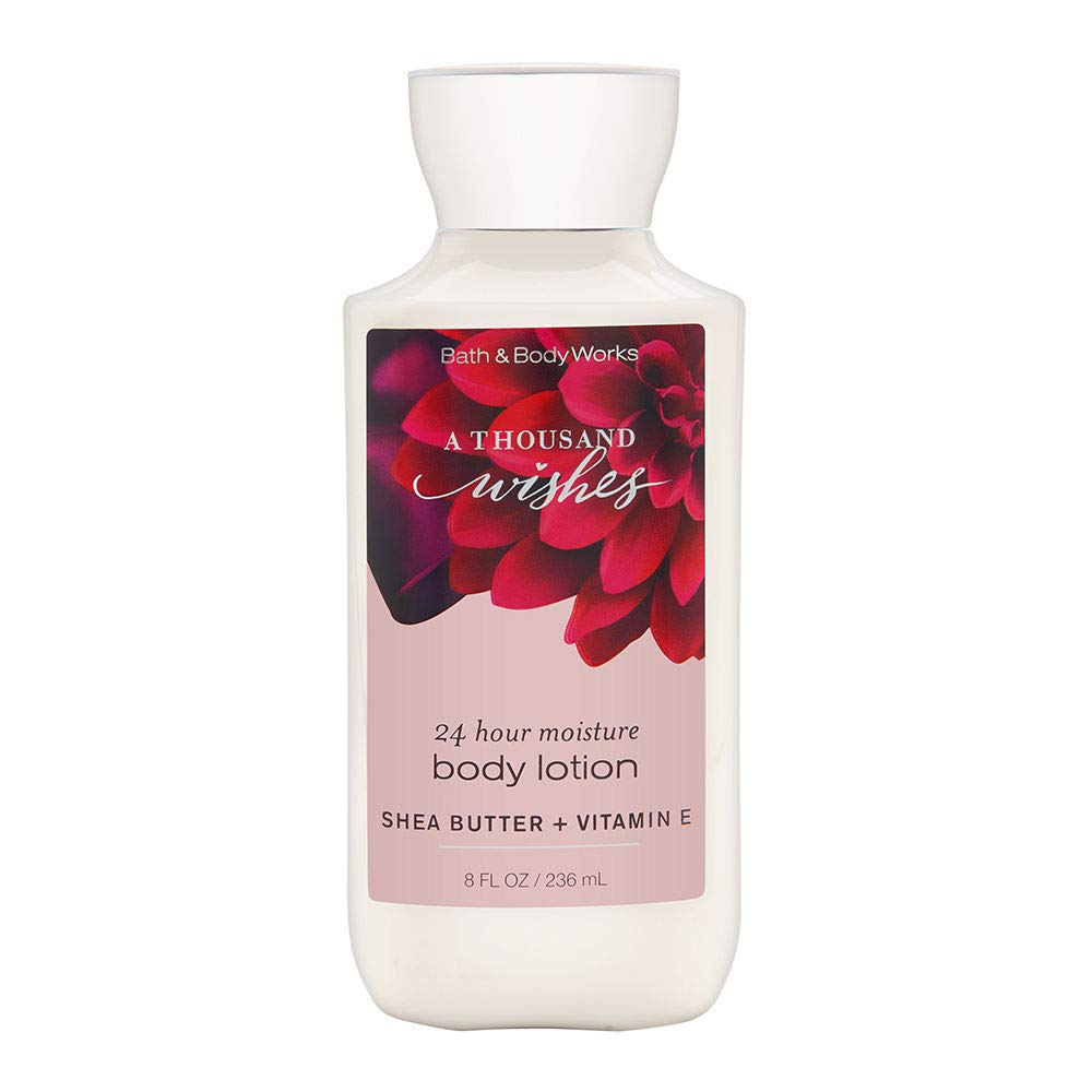 Bath & Body Works A Thousand Wishes Shea & Vitamin E Body Lotion, 8 Ounce