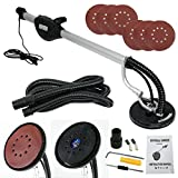 ZENY Drywall Sander 750 Watts Commercial Electric Variable Speed W/ 6 Round Sanding Pads
