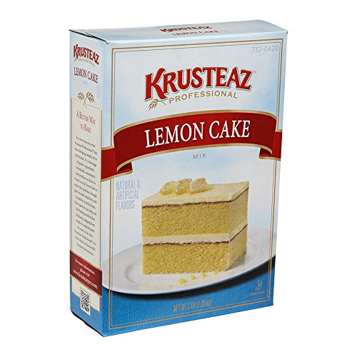 Krusteaz Professional Lemon Cake Mix 5 lb, 6 per case by Krusteaz (Image #2)
