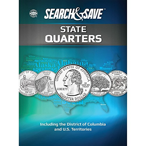 Search & Save: State Quarters - Including the District of Columbia and U.S. Territories (Whitman Search & Save)