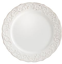 Antique Scroll Salad Plate | Pier 1 Imports