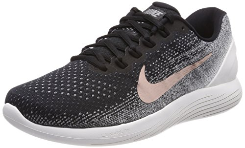 Nike Lunarglide 9 X-Plore, Scarpe Running Uomo Nero (Black/Summit White/Dark Grey/Metallic Red Bronze 001)