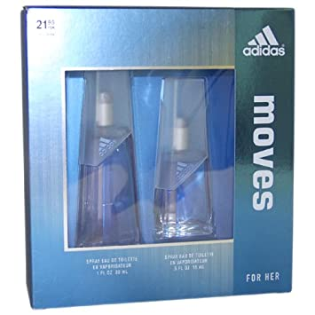 the latest 5e31b f9ff2 Image Unavailable. Image not available for. Color  ADIDAS MOVES by Adidas  for Women EAU DE TOILETTE SPRAY 1.0 OZ ...