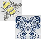 Tribal Bumble Bee and Butterfly Cross Stitch Pattern - Best Reviews Guide
