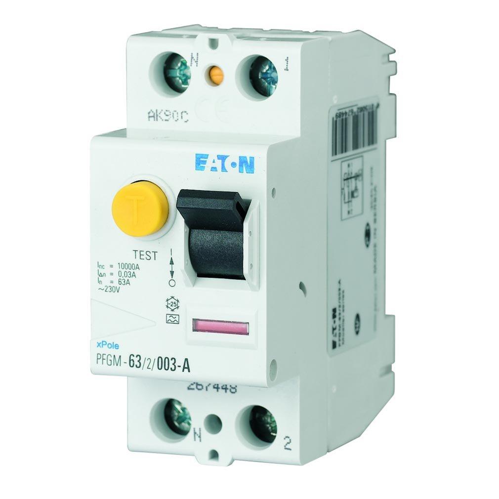 Interrupteurs diffé rentiels Eaton PFGM-40/2/003 (210320104) Moeller series