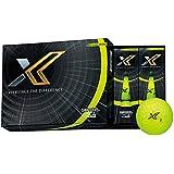 DUNLOP(ダンロップ) ゴルフボール XXIO ゼクシオ エックス ゴルフボール 1ダース(12個入り) ライムイエロー