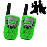 JRD&BS WINL Toys 4-8 Year Old Boys, Long Range Walkie Talkies 9-14 Year Old Boys ,Kids Outdoor Toys Games Gifts 3-12 Year Old Boys Girls Birthday Presents Gifts(Green)