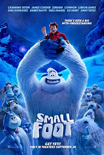 Smallfoot POSTER 27x40 Original D/S Movie Poster