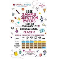 Oswaal CBSE Sample Question Paper Class 10 English Communicative (For March 2019 Exam)