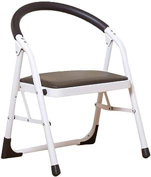 Jian E Escalera Plegable Plegables Sillas de oficina Sillas de escalera interior de un solo piso principal Escaleras encuentro y ocio silla sillas Mesa de comedor // (Color : Marrón): Amazon.es: Bricolaje
