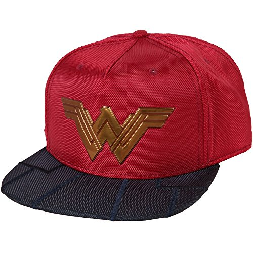 Bioworld Wonder Woman Reflective Logo Costume Adult Snapback Cap -