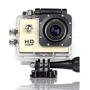 ccbetter@ CS720 1080P HD Sports Cámara impermeable cámara de la acción de 170 grados de