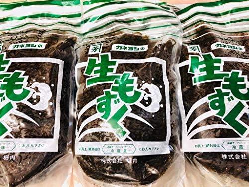 生 もずく 1㎏入り×5袋(5㎏)【沖縄産】お好みの調理方法でお召し上がりください【冷蔵便】