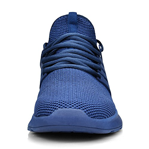 Casual Sneakers Running Men's Blue Feetmat Walking Lightweight Sports Athletic Travel Shoes Breathable Training Ultra wAwPY7