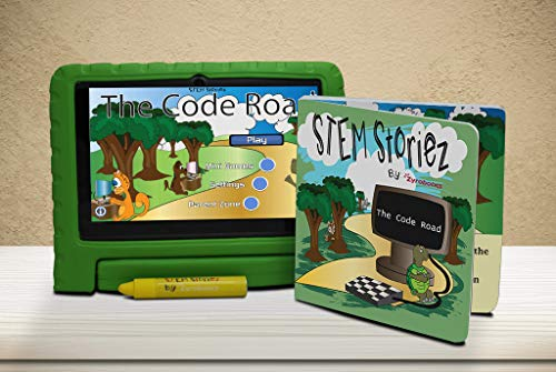 The Code Road for Early Learners. Interactive Pre-STEM Learning for Kids 3-7