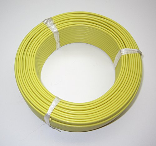 (K-Type Thermocouple Wire AWG 24 Solid w. PVC Insulation - 50 Yard roll)