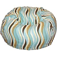 Ahh! Products Wavelength Lake Washable Kid Bean Bag Chair