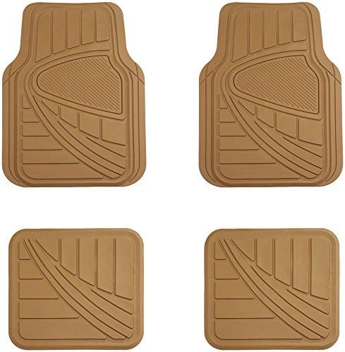 AmazonBasics 4 Piece Rubber Car Floor Mat, ()