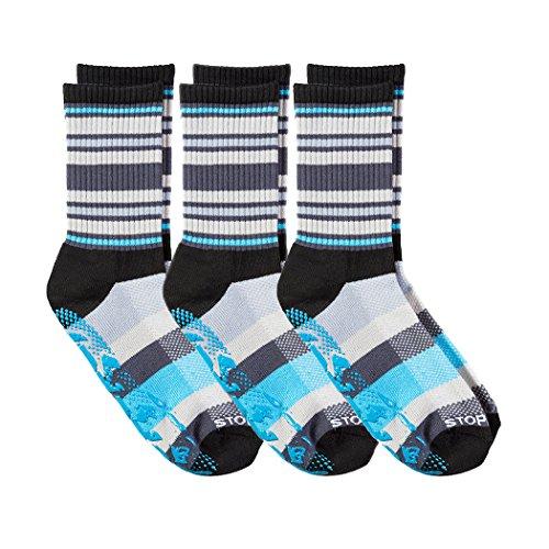 Stopsocks: Hospital Socks + Yoga, Traction, Gym, Tread Non Skid, Anti Slip Socks - Megaformer + The Perfect Running Sock