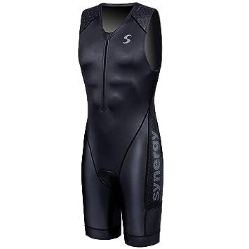Amazon.com: Synergy Triathlon Tri Suit Elite Trisuit - Traje ...