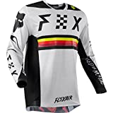 Fox Racing 2018 Flexair RODKA Limited Edition MX ATV offroad Jersey Light Gray X-Large