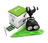 BBQ4U Grill Light - Handle-Mount BBQ Light with 10 Bright LEDs and Touch Sensor Switch, Battery Operated - Cleaning Cloth and 2 More Bonuses Included - Best BBQ Accessories Gift
