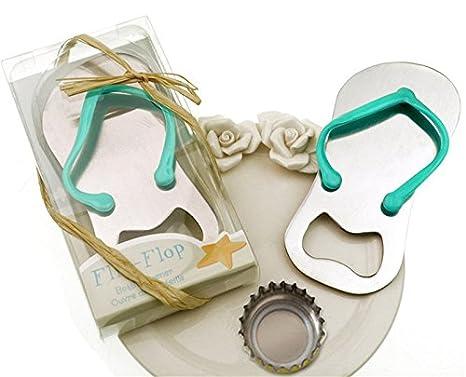 8e38283e29d2 Image Unavailable. Image not available for. Color  Meiysh 24 pcs Wedding  Favors Gift  quot Pop the Top quot  Flip-flop Bottle