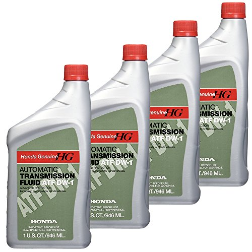 Honda FBA_08200-9008 08200-9008 Automatic Transmission Fluid, 4 Pack, (Best Atf For Honda)