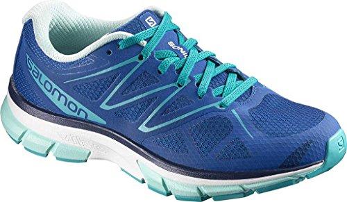 Salomon Sonic W, Zapatillas de Trail Running para Mujer Azul (Nautical Blue/White/Aruba Blue)