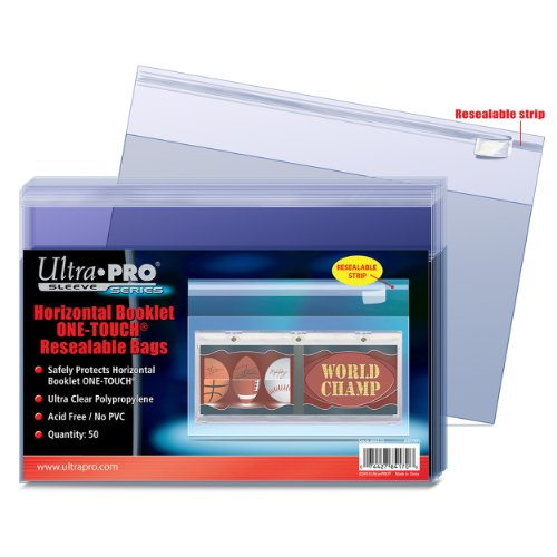 Ultra Pro One-Touch Horizontal Booklet Resealable Bag