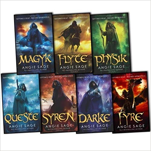 Septimus Heap Series - Books 1 - 7 - Complete - Angie Sage