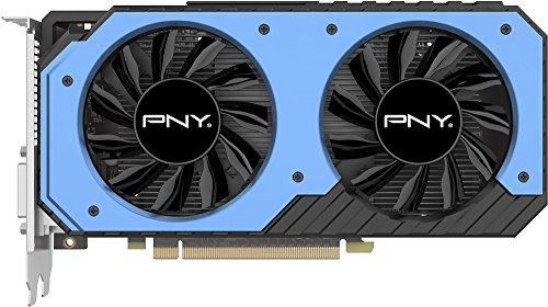 PNY - NVIDIA GeForce GTX 950 2GB GDDR5 PCI Express 3.0 Graphics Card - Black/Blue VCGGTX9502XPB-OC-BB (Pny Nvidia Geforce Gtx 950 2gb Gddr5)
