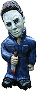 Horror Gnome Ornament - Scary Prop and Decoration for Halloween, Christmas, Parties and Events for Home Patio and Garden Zombies Gnome (Michael Myers)