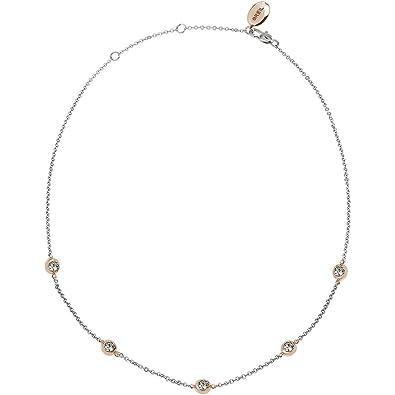 Breil Collar cadena Mujer acero inoxidable - TJ2624: Amazon ...