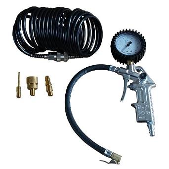 Impresión Neumáticos de Aire füllerkit AEG con manguera de espiral y 3 piezas Adap: Amazon.es: Iluminación