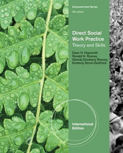 Direct Social Work Practice: Theory and Skills, International Edition
