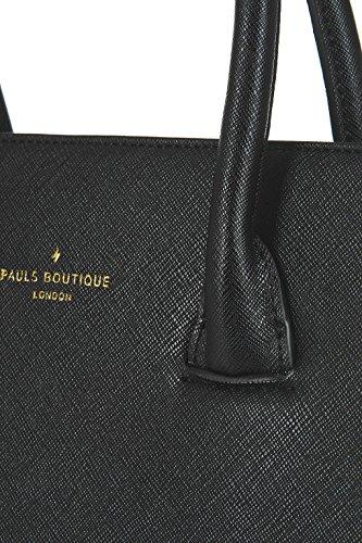Paul's Boutique , Sac à main pour femme noir Schwarz